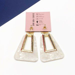 8 Other Reasons Jewelry - 8 Other Reasons Cherub Hoops Statement Earrings